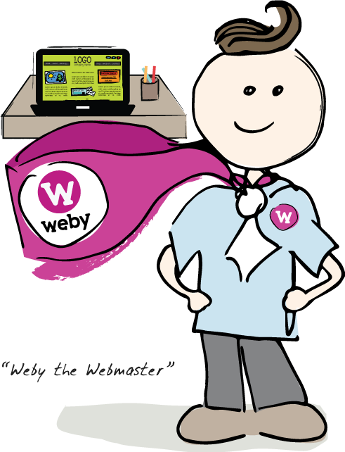 Weby The Webmaster
